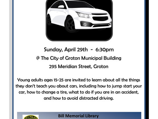 The Ins & Outs of Cars @ Municipal Building