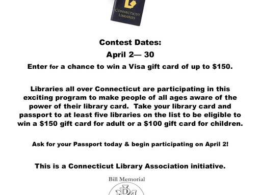 Passport To Connecticut Libraries