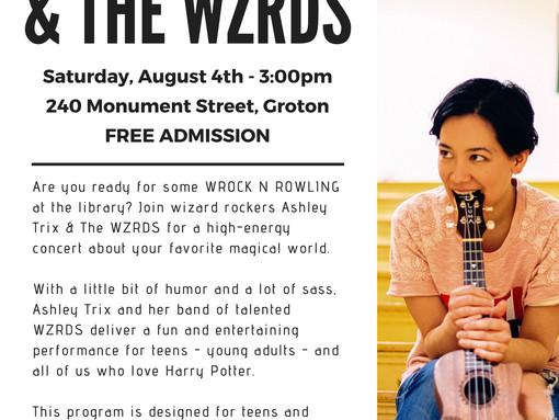 Ashley Trix & The WZRDS Concert