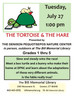 The Tortoise and the Hare - at the Library!