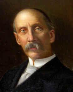 A portrait of Mr. Frederic Bill