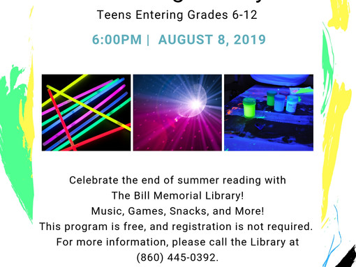 Black Light Party for Teens!