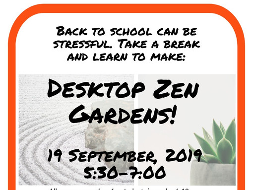 Teens - Make a Desktop Zen Garden!
