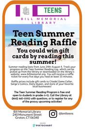 Teen Summer Program!