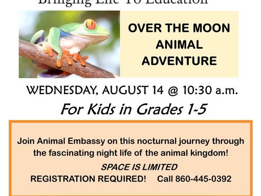 Over the Moon Animal Adventure!