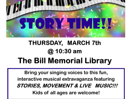 Sing-Along Musical Story Time!