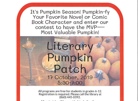 Teens - Pumpkinify  Your Favorite Book