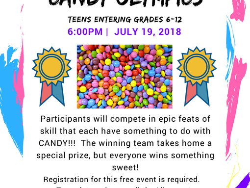 Candy Olympics for Teens