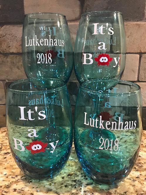 Custom Wine/Drinking Glass