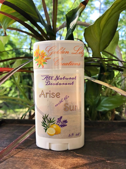 All Natural Deodorant - Arise with the Sun