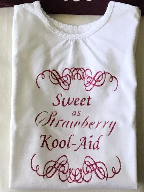 Sweet As Strawberry Kool-Aid