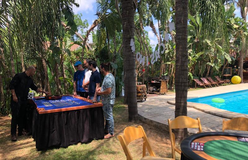 משחקי שולחן באירוע