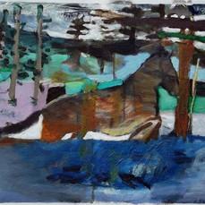 quarter horse in landscape