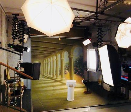 Wnętrze studia FotoCiszek w Bielsku-Białej