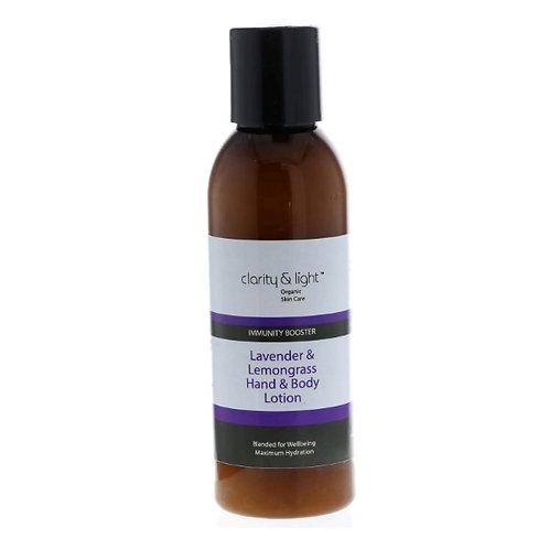 Lavender & Lemongrass hand & body lotion