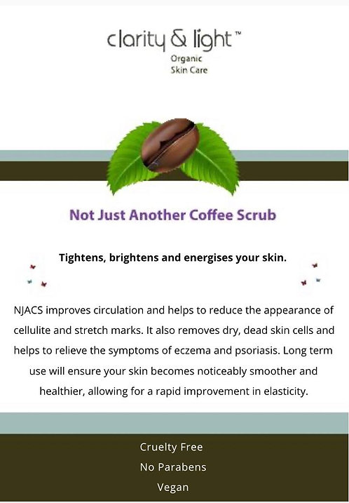 Not Just Another Coffee Scrub