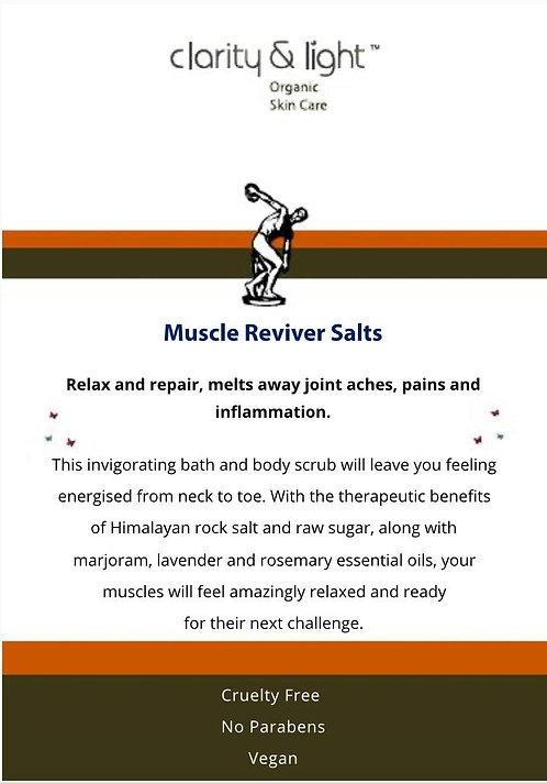 Muscle  Reviver body scrub & bath salts