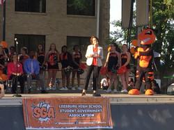 LHS Community Pep Rally Celebration
