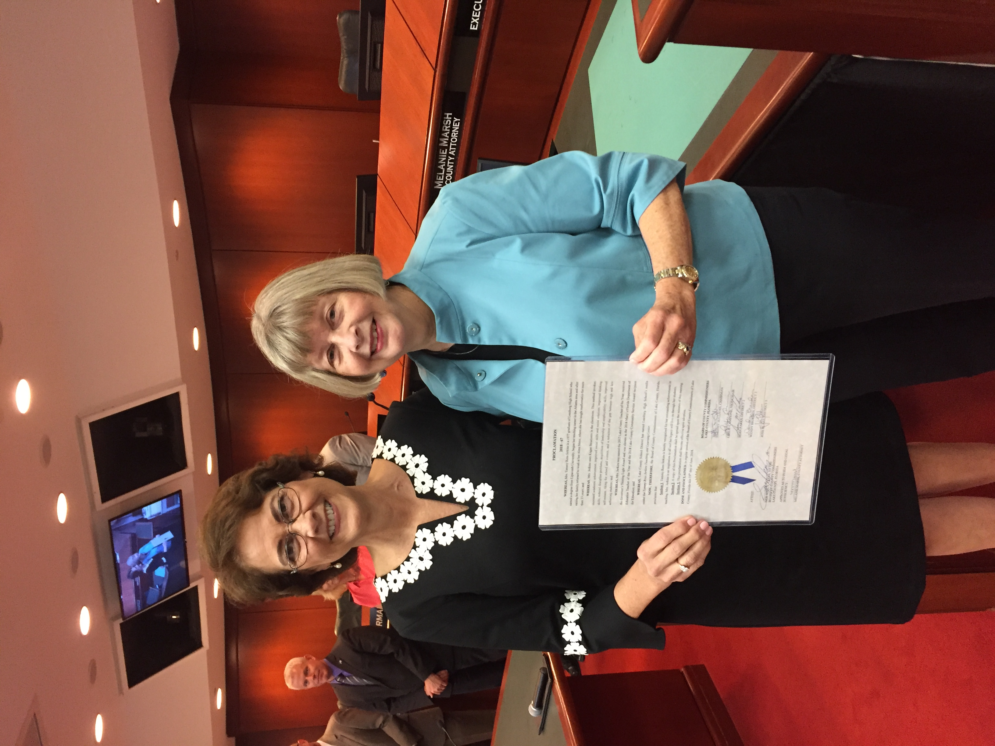 Lake County Commission Proclamation
