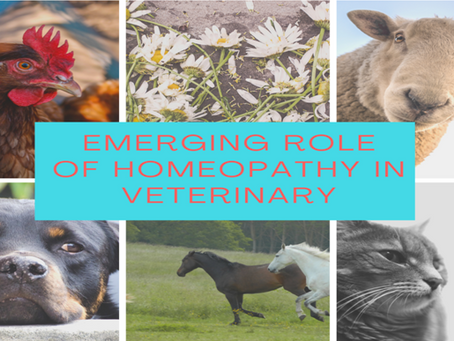 EMERGING ROLE OF HOMEOPATHY IN VETERINARY