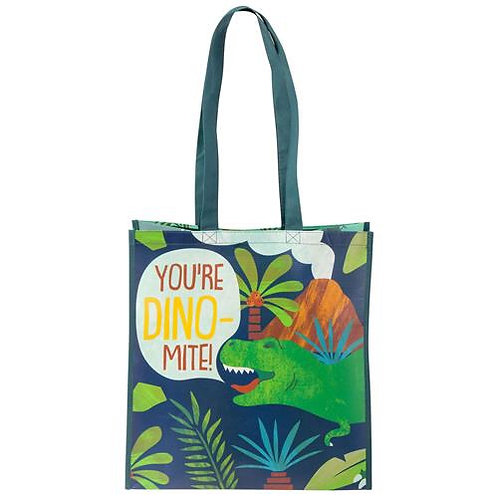 Recycled Gift Bag Dino Stephen Joseph