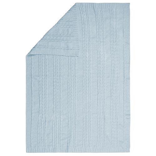 Chenille Blanket Blue Stephen Joseph
