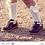 Thumbnail: Girls Crochet High Socks w/Bow Condor RED