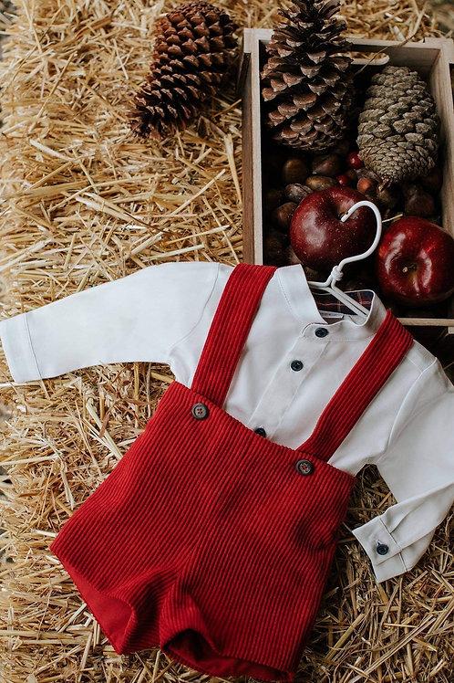 Paz Rodriguez Boys red & white