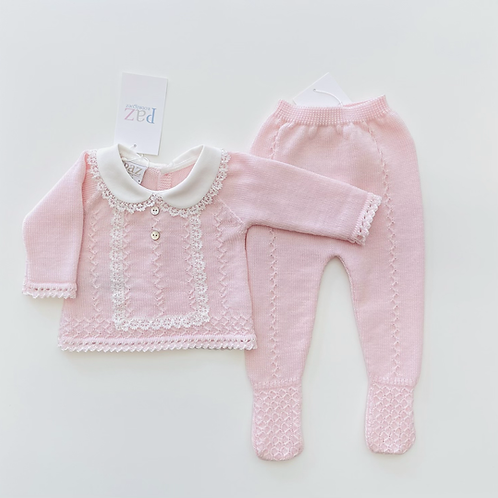 Baby Girl Knit Set Paz Rodriguez