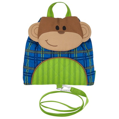 Monkey Stephen Joseph Buddy Bag Backpack w/ Safety Harness