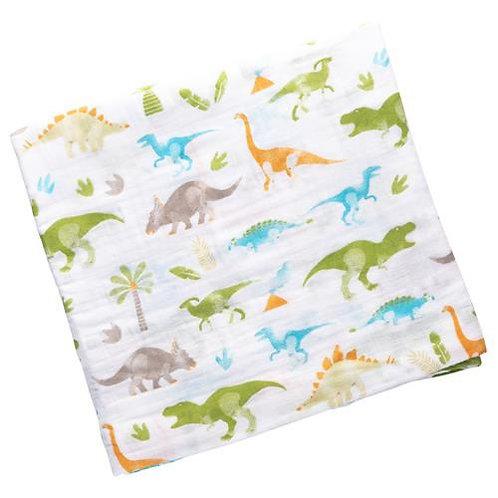Muslin Blanket Dino Stephen Joseph