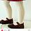 Thumbnail: Girls Crochet Tights Condor BLUE