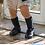 Thumbnail: Blue Navy Ribbed High Socks Condor.