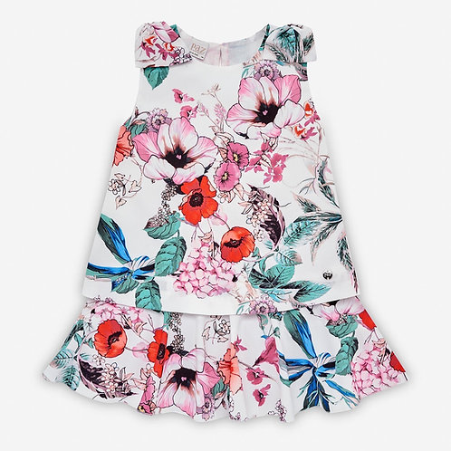Girls Floral Dress Paz Rodriguez 15523