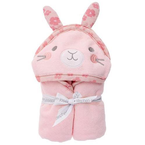 Hooded Bath Towel Bunny for Baby Stephen Joseph