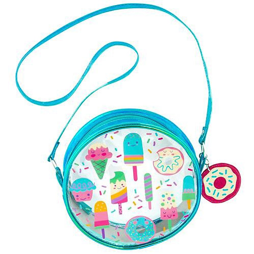 Iridescent  Crossbody Purse Sweets Stephen Joseph