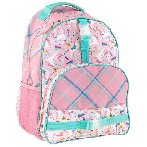 Backpack all over print pink Unicorn