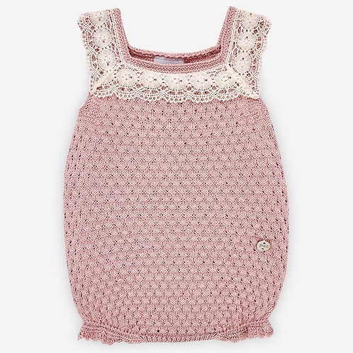 Baby Girl Knit Body Paz Rodriguez 12330