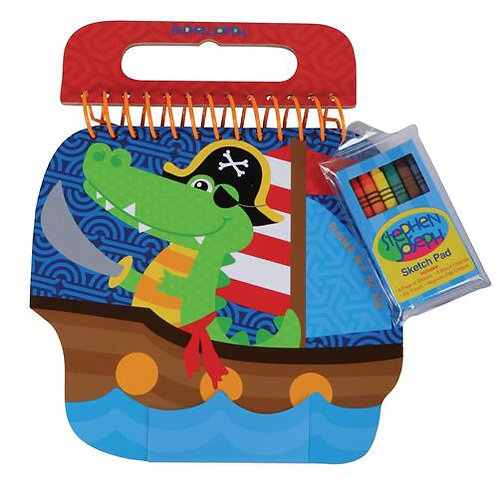 Shaped Sketch Pad Alligator Stephen Joseph