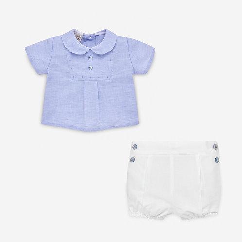 Boys Woven Shirt & Short Set Paz Rodriguez 15271