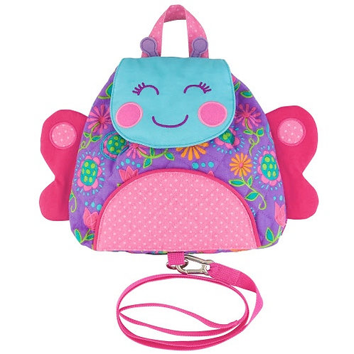 Butterfly Buddy Bag Backpack w/ Safety Harness Stephen Joseph.
