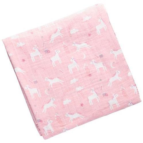 Muslin Blanket Unicorn Stephen Joseph