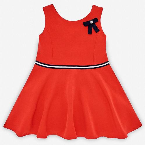 Girls Woven Red Dress Paz Rodriguez 004-15614