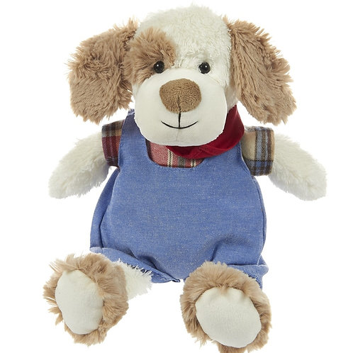 Plush Dressed Puppy Maison