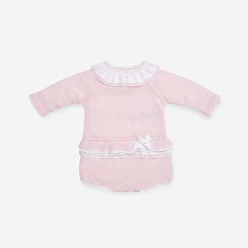 Girls Knit Romper Fragancia Paz Rodriguez 01896