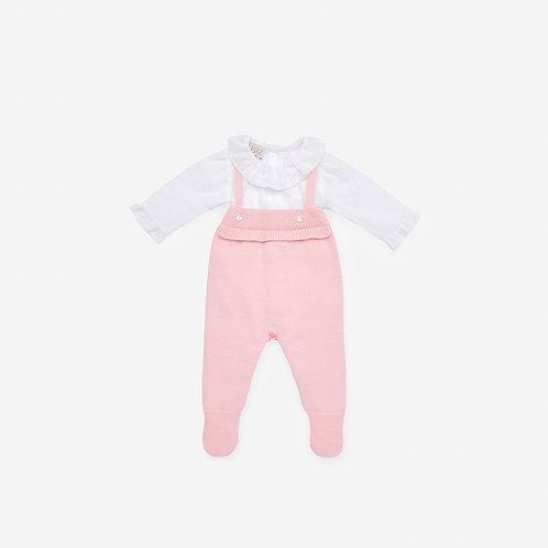 Girls Knit Romper Paz Rodriguez 01899