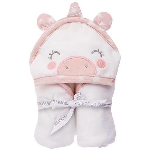 Hooded  Bath Towel Unicorn  for Baby