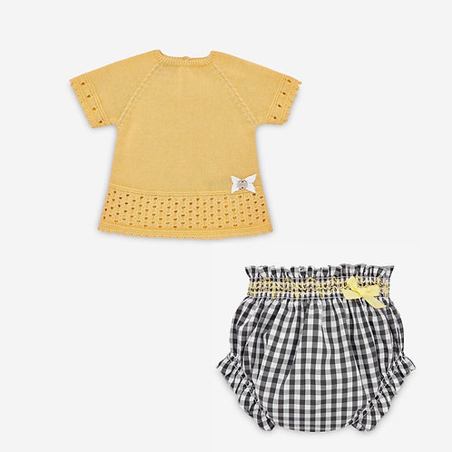Girls Knit Sweater & Bloomers Set Paz Rodriguez 12481
