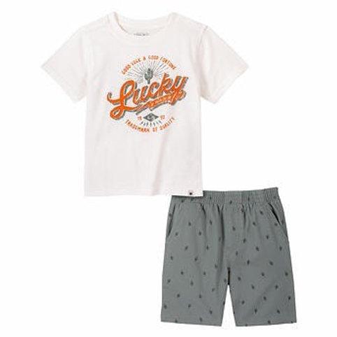 Boys Lucky Brand Casual Set