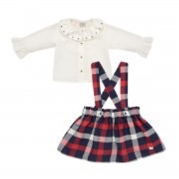 Girls Blouse & Skirts Set Paz Rodriguez 05881